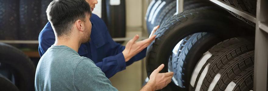 Achat de pneus